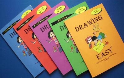 Drawing is Easy Books by Paul Lee